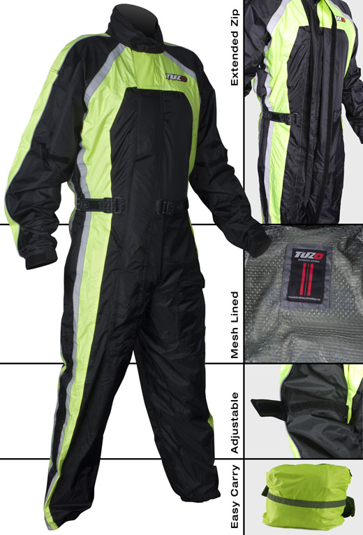 flo yelow storm suit